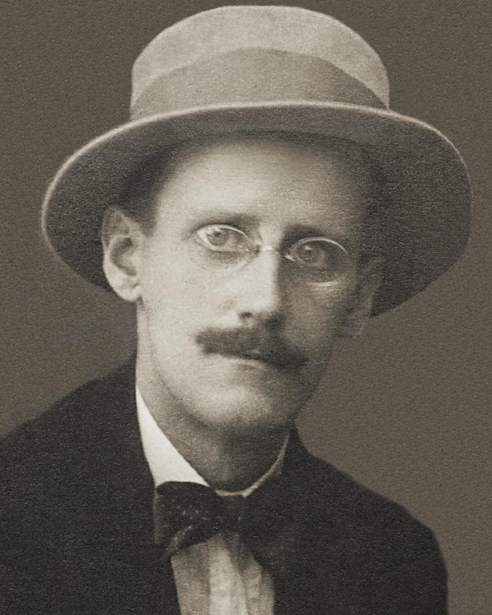 """James Joyce, der Autor von """"Ulysses""""."""