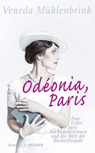 "Cover des Romans ""Odéonia, Paris"" von Veneda Mühlenbrink."