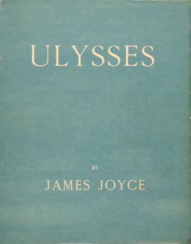"""Das Cover der Originalausgabe von """"Ulysses""""."""