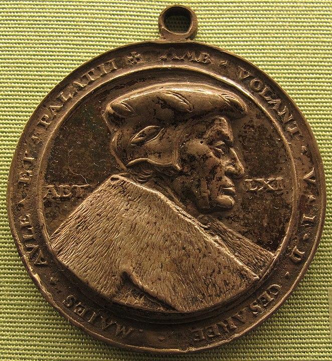 Ambrosius Volland, der Kanzler von Herzog Ulrich.