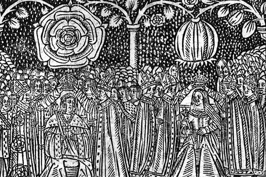 Krönung von Heinrich VIII. und Katharina von Aragon