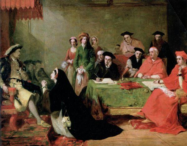 Katharina von Aragon in der Vorstellung des 19. Jahrhunderts