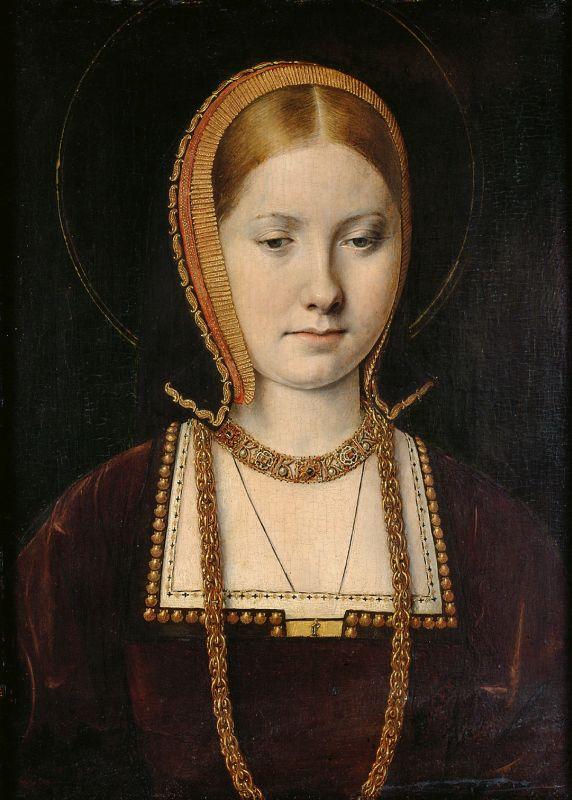 Katharina von Aragon als junge Frau