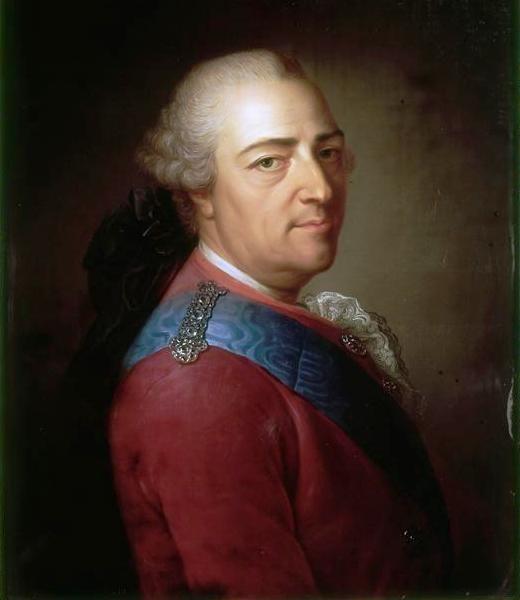 Ludwig XV. von Frankreich, der an den Pocken starb.