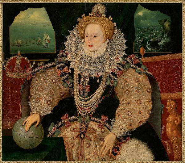 Auch Frauen konnten den Renaissance-Ellbogen einsetzen. Jedenfalls manche!