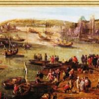 """Ausschnitt aus """"Der Kopf des Löwen"""" von Francois de Gourcez"""