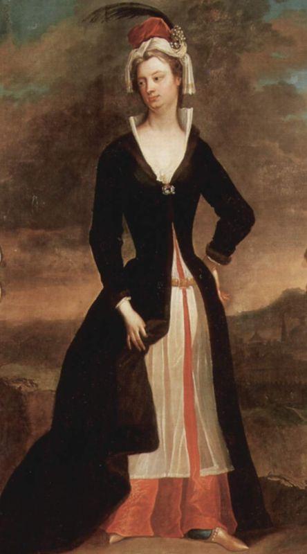 Lady Mary Wortley Montagu, die als eine der ersten Europäerinnen für die Impfung gegen die Pocken eintrat.