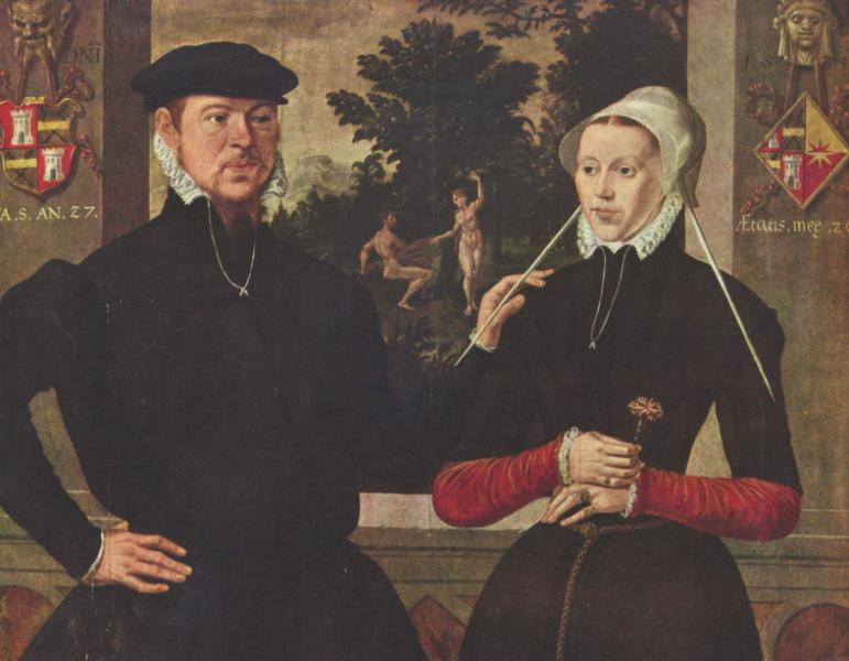 Familienportrait aus Antwerpen