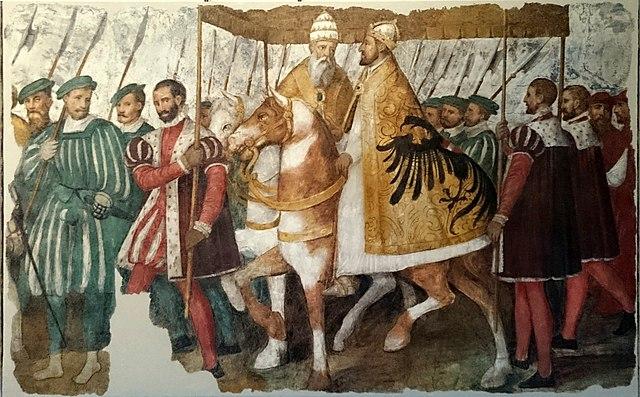 Clemens VII. und Karl V. in bestem Einvernehmen; die englische Scheidung war vom Tisch.