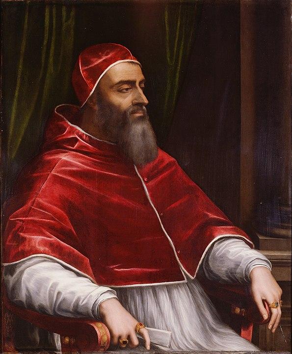 Clemens VII., der sich für oder gegen Heinrichs Scheidung entscheiden musste.