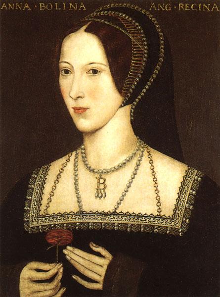 Anne Boleyn, das Portrait von Hever Castle.