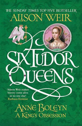 """Cover des Romans """"Anne Boleyn"""" von Alison Weir."""