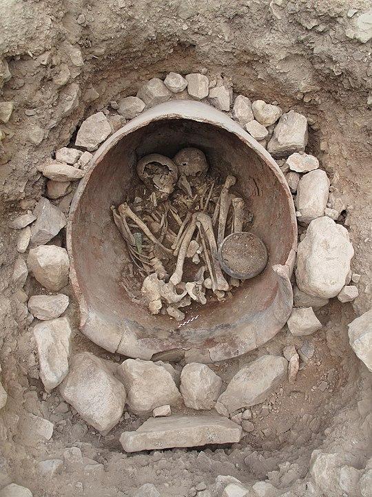 Gräberfund der El-Argar-Kultur.