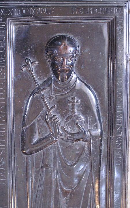 Rudolf von Rheinfelden, ein Rivale der Grafen von Lenzburg.