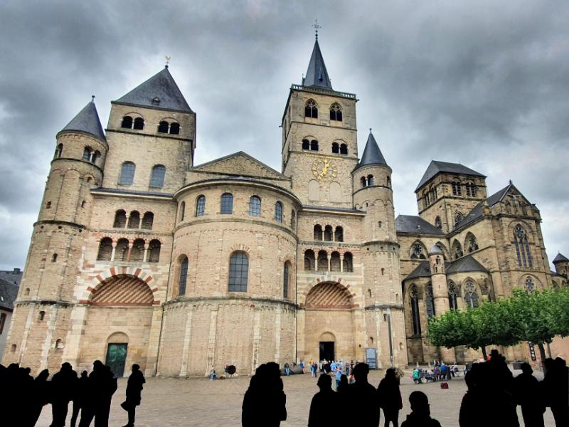 Dom und Liebfrauenkirche in Trier.