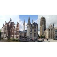 Ansichten von Brügge, Gent und Mechelen