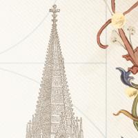 """Ausschnitt aus dem Cover des Romans """"Der Turm aus Licht"""" von Astrid Fritz."""