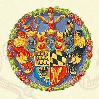 """Ausschnitt aus dem Cover des Romans """"Der Getreue des Herzogs"""" von Johanna von Wild"""